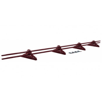 Снегозадержатель труб. ECONOM light (4 опоры)